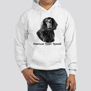 Water Spaniel Charcoal Hooded Sweatshirt