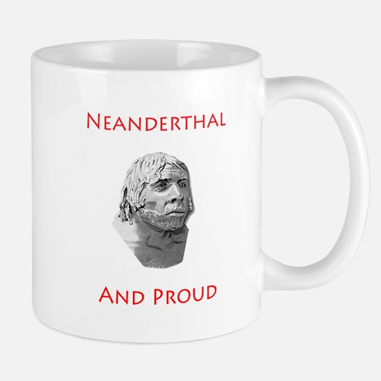 Neanderthal and Proud Mug