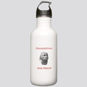 Neanderthal and Proud Water Bottle