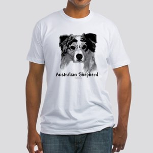 Aussie Charcoal Fitted T-Shirt