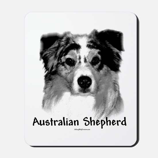 Aussie Charcoal Mousepad