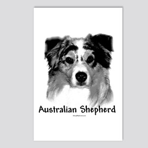 Aussie Charcoal Postcards (Package of 8)