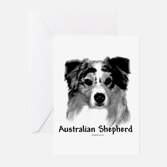 Aussie Charcoal Greeting Cards (Pk of 10)
