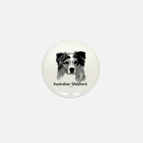 Aussie Charcoal Mini Button