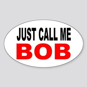 FIRST NAME 1 Oval Sticker