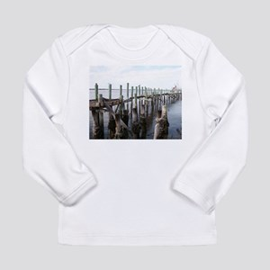 Old Fernandina Docks Long Sleeve T-Shirt