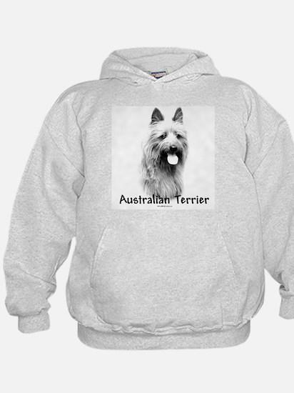 Australian Terrier Charcoal Hoodie