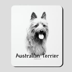 Australian Terrier Charcoal Mousepad