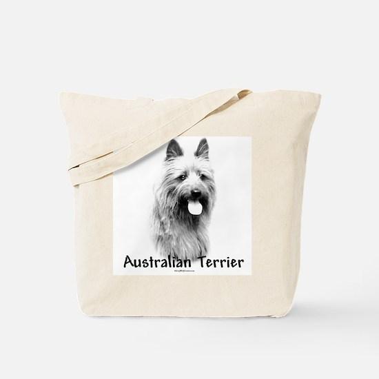 Australian Terrier Charcoal Tote Bag