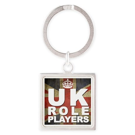 UK Role Players Square Keychain