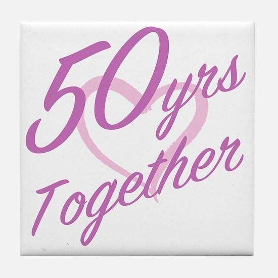 Unique Cute couples Tile Coaster