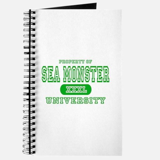 Sea Monster University Journal