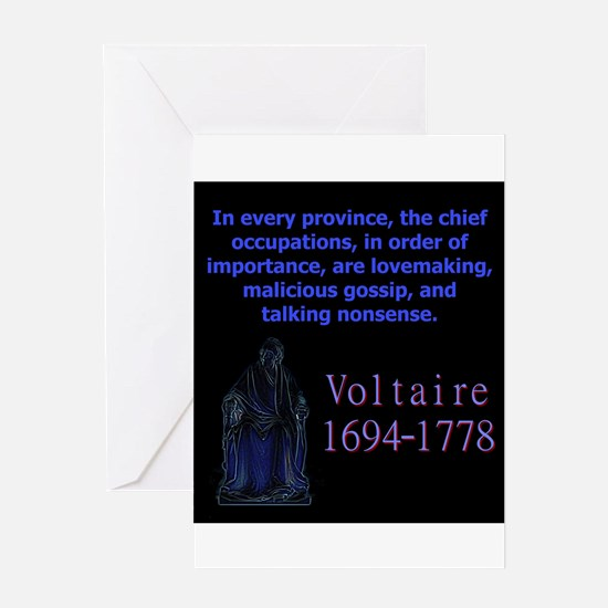 In Every Province - Voltaire Greeting Cards