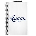 Ayaan name Journal