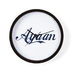 Ayaan name Wall Clock