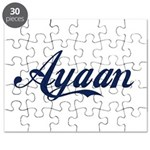Ayaan name Puzzle