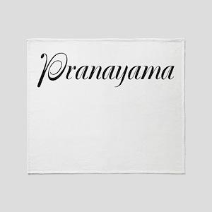 Pranayama Throw Blanket