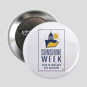 """Sunshine Week logo 2.25"""" Button"""