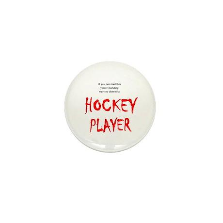 Too Close Hockey Mini Button