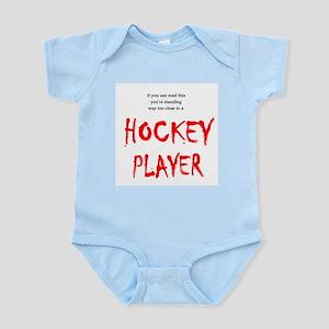 Too Close Hockey Infant Bodysuit