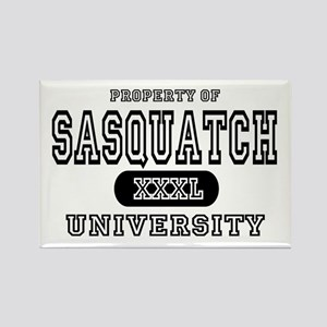 Sasquatch University Rectangle Magnet