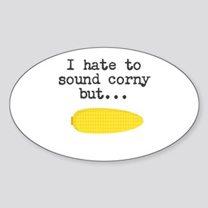 Funny Corny Joke Sticker