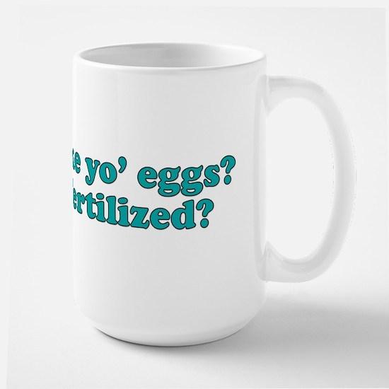 How you like yo eggs? Mug