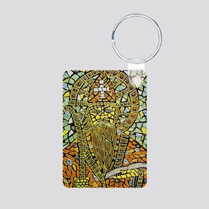 St. Augustine of Hippo Aluminum Photo Keychain