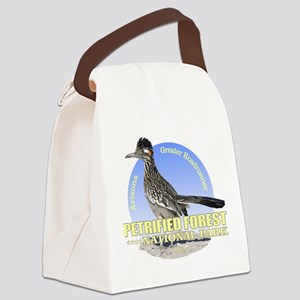 Petrified Forest NP Canvas Lunch Bag