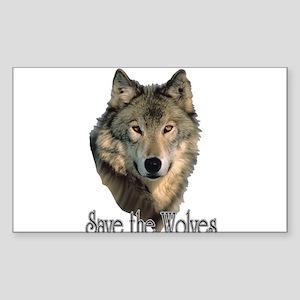 Save Wolve Sticker