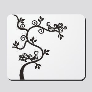 birdy tree Mousepad