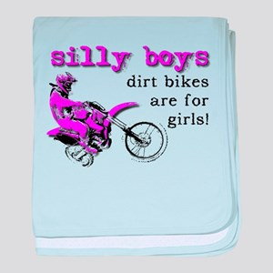 Dirt Bikes Are For Girls Motocross Bike Funny baby
