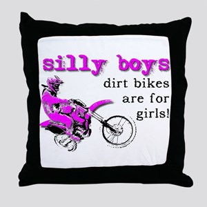 Dirt Bikes Are For Girls Motocross Bike Funny Thro