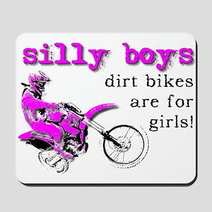Dirt Bikes Are For Girls Motocross Bike Funny Mous