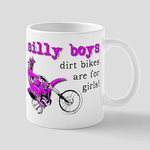 Dirt Bikes Are For Girls Motocross Bike Funny Mug