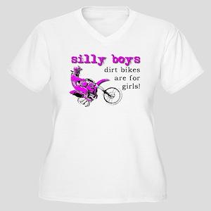Dirt Bikes Are For Girls Motocross Bike Funny Plus