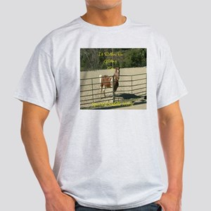 Spotted Saddle Horse Ash Grey T-Shirt