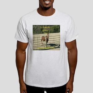 Spotted Saddle Horse Ash Grey T-Shirt
