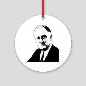 FDR Ornament (Round)