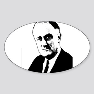 FDR Oval Sticker