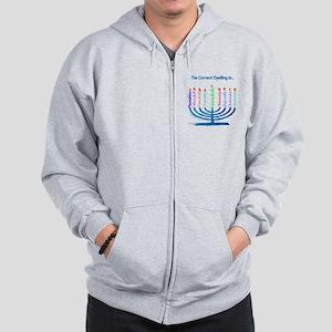 Chanukah Spelling Zip Hoodie