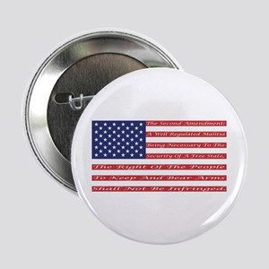 "2nd Amendment Flag 2.25"" Button"