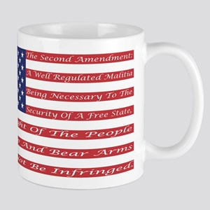 2nd Amendment Flag Mug