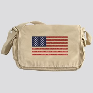 2nd Amendment Flag Messenger Bag