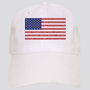 2nd Amendment Flag Baseball Cap