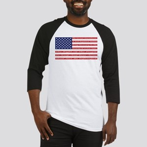 2nd Amendment Flag Baseball Jersey