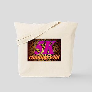 ANIMAL PRINT FOR RUNNERS - 5K LEOPARD Tote Bag