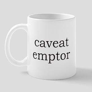 Caveat Emptor Mug