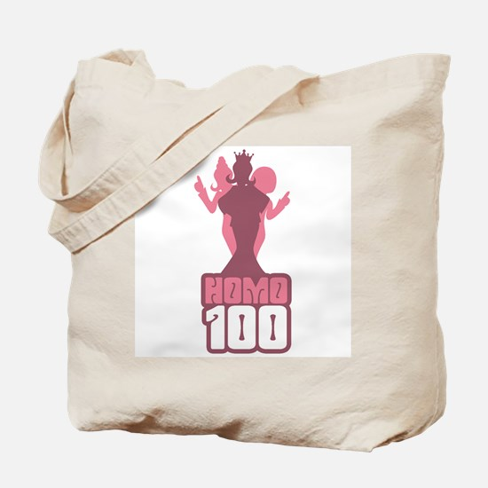 RADIO HOMO 100 Tote Bag