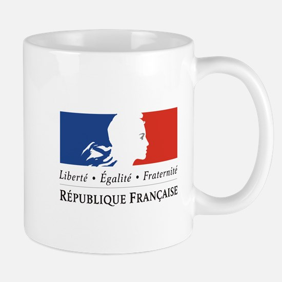 REPUBLIQUE FRANCAIS Small Mug